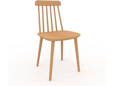 Holzstuhl in Buche 43 x 82 x 44 cm einzigartiges Design, konfigurierbar