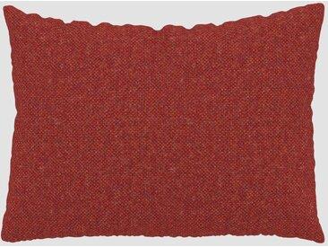 Kissen - Blutorange, 48x65cm - Melierte Wolle, individuell konfigurierbar