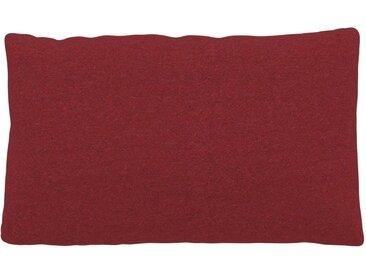 Kissen - Kirschrot, 30x50cm - Wolle, individuell konfigurierbar