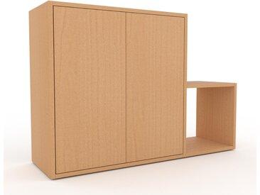 Rollcontainer Buche - Moderner Rollcontainer: Türen in Buche - 116 x 80 x 35 cm, konfigurierbar