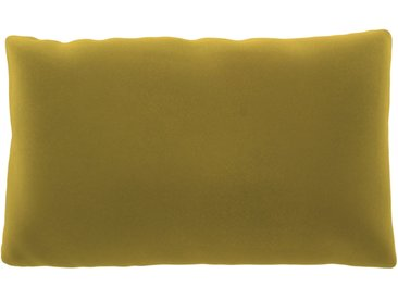 Kissen - Rapsgelb, 30x50cm - Samt, individuell konfigurierbar