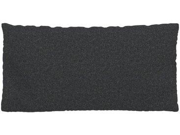Kissen - Anthrazit, 40x80cm - Wolle, individuell konfigurierbar