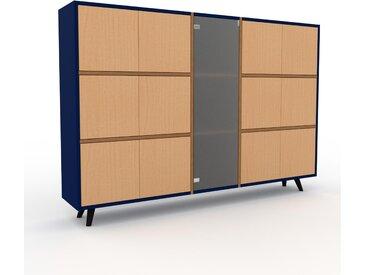 Highboard Buche - Elegantes Highboard: Türen in Buche - Hochwertige Materialien - 190 x 130 x 35 cm, Selbst designen