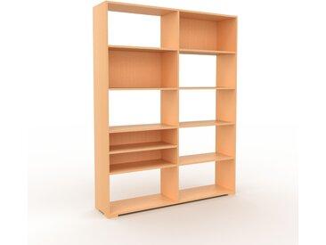 Aktenregal Buche, Holz - Flexibles Büroregal: Hochwertige Qualität, einzigartiges Design - 152 x 196 x 35 cm, konfigurierbar