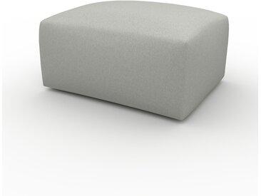 Polsterhocker Zementgrau - Eleganter Polsterhocker: Hochwertige Qualität, einzigartiges Design - 80 x 42 x 64 cm, Individuell konfigurierbar