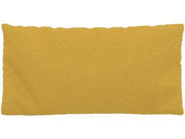 Kissen - Rapsgelb, 40x80cm - Wolle, individuell konfigurierbar