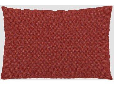 Kissen - Blutorange, 40x60cm - Melierte Wolle, individuell konfigurierbar