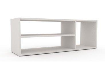 Bücherregal Weiß - Modernes Regal für Bücher: Hochwertige Qualität, einzigartiges Design - 116 x 41 x 35 cm, Individuell konfigurierbar