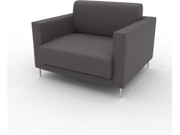 Sessel Kiesgrau - Eleganter Sessel: Hochwertige Qualität, einzigartiges Design - 104 x 75 x 98 cm, Individuell konfigurierbar