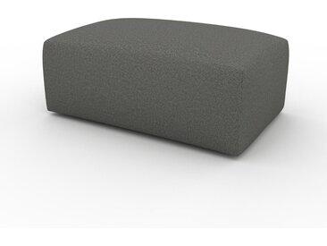 Polsterhocker Kiesgrau - Eleganter Polsterhocker: Hochwertige Qualität, einzigartiges Design - 100 x 42 x 64 cm, Individuell konfigurierbar