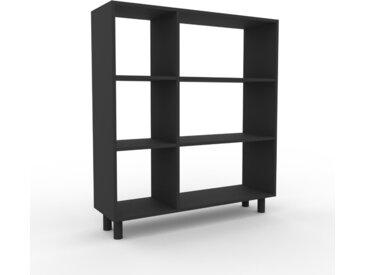 Schallplattenregal Graphitgrau - Modernes Regal für Schallplatten: Hochwertige Qualität, einzigartiges Design - 116 x 130 x 35 cm, Selbst designen