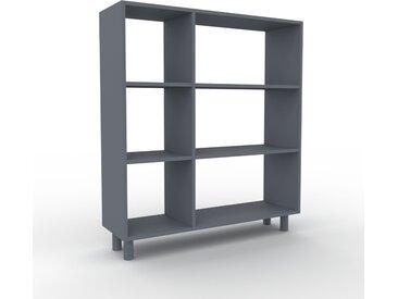 Schallplattenregal Anthrazit - Modernes Regal für Schallplatten: Hochwertige Qualität, einzigartiges Design - 116 x 130 x 35 cm, Selbst designen