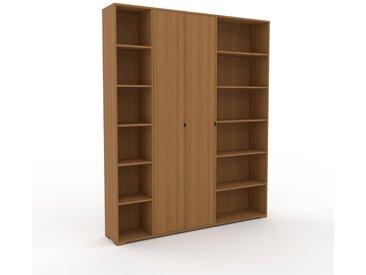 Schrank Eiche - Moderner Schrank: Türen in Eiche - Hochwertige Materialien - 193 x 235 x 35 cm, Selbst zusammenstellen