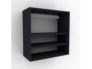 Hängeschrank Anthrazit - Moderner Wandschrank: Hochwertige Qualität, einzigartiges Design - 77 x 80 x 35 cm, konfigurierbar