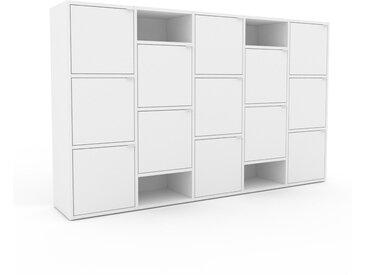 Highboard Weiß - Elegantes Highboard: Türen in Weiß - Hochwertige Materialien - 195 x 118 x 35 cm, Selbst designen