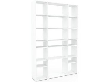 Regalsystem Weiß - Flexibles Regalsystem: Hochwertige Qualität, einzigartiges Design - 154 x 233 x 35 cm, Komplett anpassbar