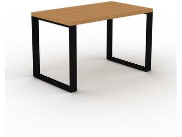 Schreibtisch Massivholz Eiche, Holz - Moderner Massivholz-Schreibtisch: Einzigartiges Design - 120 x 75 x 70 cm, konfigurierbar