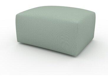 Polsterhocker Minzgrün - Eleganter Polsterhocker: Hochwertige Qualität, einzigartiges Design - 80 x 42 x 64 cm, Individuell konfigurierbar