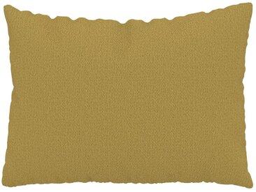 Kissen - Senfgelb, 48x65cm - Strukturgewebe, individuell konfigurierbar
