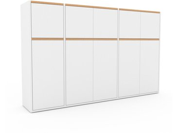 Highboard Weiß - Elegantes Highboard: Türen in Weiß - Hochwertige Materialien - 190 x 118 x 35 cm, Selbst designen