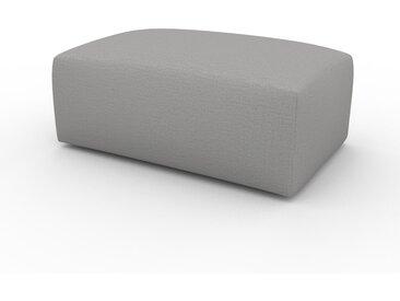 Polsterhocker Lichtgrau - Eleganter Polsterhocker: Hochwertige Qualität, einzigartiges Design - 100 x 42 x 64 cm, Individuell konfigurierbar