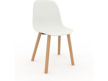 Holzstuhl in Weiß 49 x 82 x 43 cm einzigartiges Design, konfigurierbar