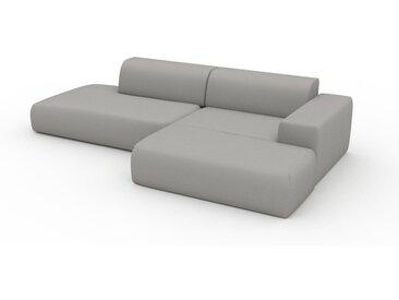 Ecksofa Sandgrau - Flexible Designer-Polsterecke, L-Form: Beste Qualität, einzigartiges Design - 296 x 72 x 168 cm, konfigurierbar