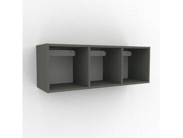 Hängeschrank Nebelgrün - Moderner Wandschrank: Hochwertige Qualität, einzigartiges Design - 118 x 41 x 35 cm, konfigurierbar