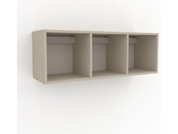 Hängeschrank Taupe - Moderner Wandschrank: Hochwertige Qualität, einzigartiges Design - 118 x 41 x 35 cm, konfigurierbar