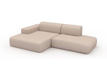 Ecksofa Cremeweiß - Flexible Designer-Polsterecke, L-Form: Beste Qualität, einzigartiges Design - 270 x 72 x 168 cm, konfigurierbar