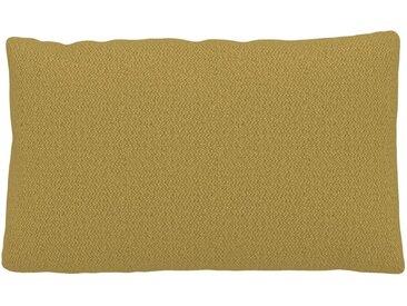 Kissen - Senfgelb, 30x50cm - Strukturgewebe, individuell konfigurierbar