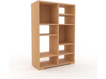 Bücherregal Buche, Holz - Modernes Regal für Bücher: Hochwertige Qualität, einzigartiges Design - 79 x 120 x 35 cm, konfigurierbar