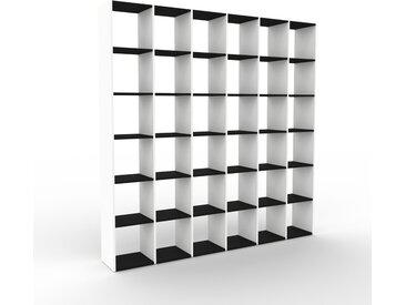 Regalsystem Weiß - Flexibles Regalsystem: Hochwertige Qualität, einzigartiges Design - 233 x 233 x 35 cm, Komplett anpassbar