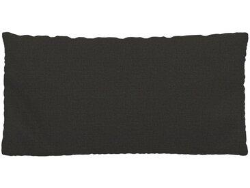 Kissen - Anthrazit, 40x80cm - Webstoff, individuell konfigurierbar