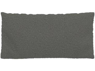 Kissen - Kiesgrau, 40x80cm - Feingewebe, individuell konfigurierbar