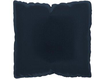 Kissen - Nachtblau, 40x40cm - Samt, individuell konfigurierbar