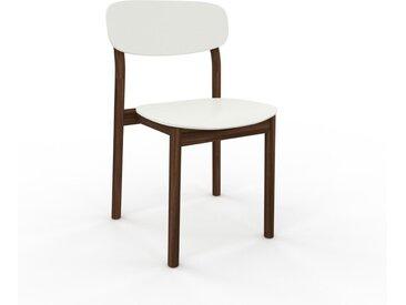 Holzstuhl in Weiß 52 x 82 x 49 cm einzigartiges Design, konfigurierbar