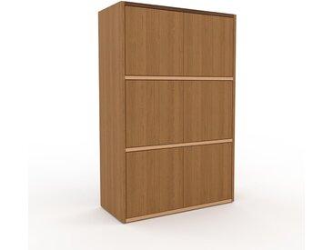 Highboard Eiche - Elegantes Highboard: Türen in Eiche - Hochwertige Materialien - 77 x 118 x 35 cm, Selbst designen
