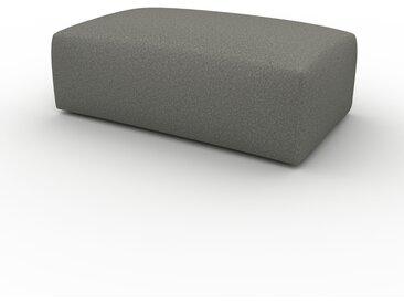 Polsterhocker Zementgrau - Eleganter Polsterhocker: Hochwertige Qualität, einzigartiges Design - 100 x 42 x 64 cm, Individuell konfigurierbar
