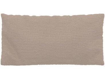 Kissen - Sandbeige, 40x80cm - Feingewebe, individuell konfigurierbar