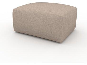 Polsterhocker Kaschmirbeige - Eleganter Polsterhocker: Hochwertige Qualität, einzigartiges Design - 80 x 42 x 64 cm, Individuell konfigurierbar