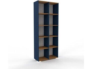Hochschrank Weiß - Moderner Schrank: Hochwertige Qualität, einzigartiges Design - 79 x 196 x 35 cm, Selbst zusammenstellen