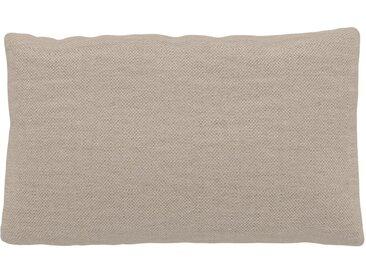 Kissen - Cremeweiß, 30x50cm - Webstoff, individuell konfigurierbar