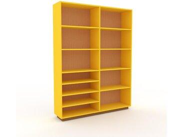 Aktenregal Buche, Holz - Flexibles Büroregal: Hochwertige Qualität, einzigartiges Design - 152 x 200 x 35 cm, konfigurierbar
