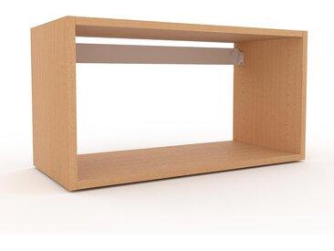 Hängeschrank Buche, Holz - Moderner Wandschrank: Hochwertige Qualität, einzigartiges Design - 77 x 41 x 35 cm, konfigurierbar