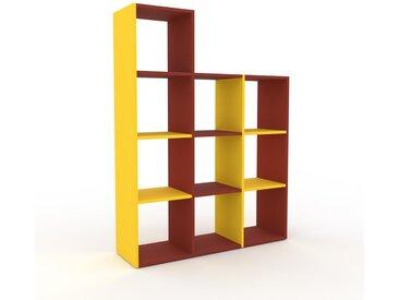 Schallplattenregal Terrakotta - Modernes Regal für Schallplatten: Hochwertige Qualität, einzigartiges Design - 118 x 157 x 35 cm, Selbst designen