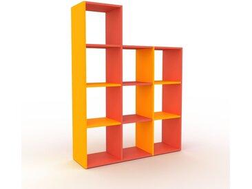 Schallplattenregal Gelb - Modernes Regal für Schallplatten: Hochwertige Qualität, einzigartiges Design - 118 x 157 x 35 cm, Selbst designen