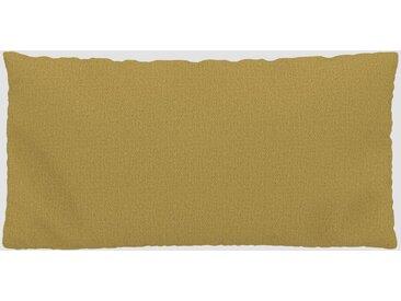 Kissen - Senfgelb, 40x80cm - Strukturgewebe, individuell konfigurierbar