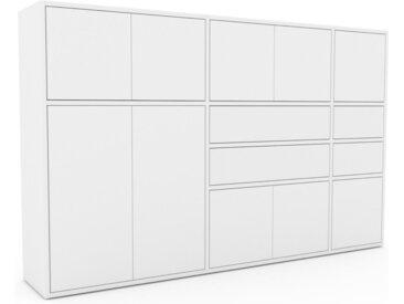 Highboard Weiß - Highboard: Schubladen in Weiß & Türen in Weiß - Hochwertige Materialien - 190 x 118 x 35 cm, Selbst designen