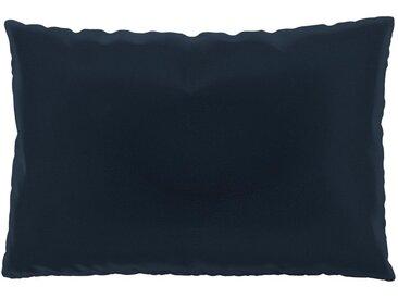 Kissen - Nachtblau, 40x60cm - Samt, individuell konfigurierbar